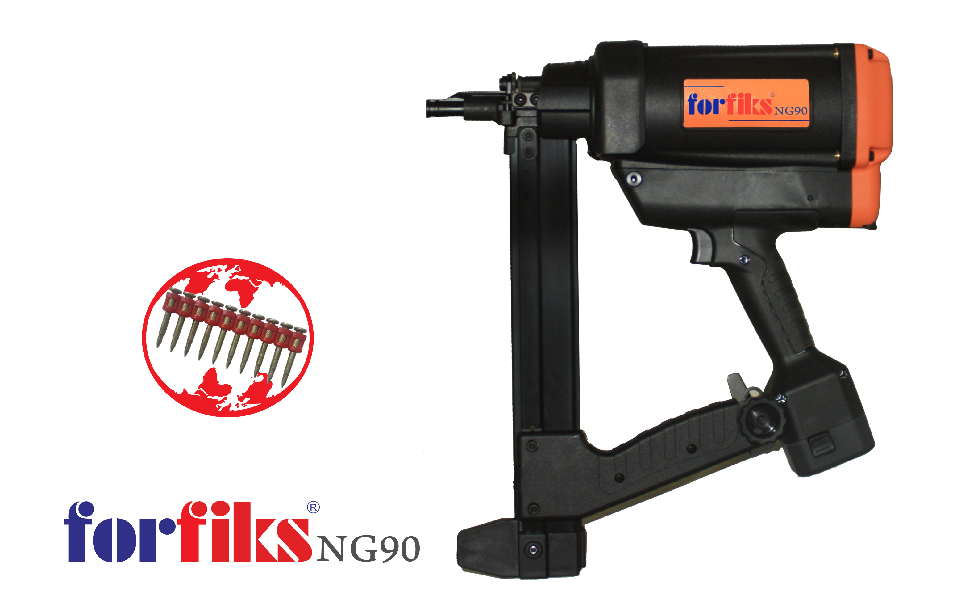 Nail Gun With Cartridge